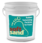 SoftSand Rubber Particles One Gallon
